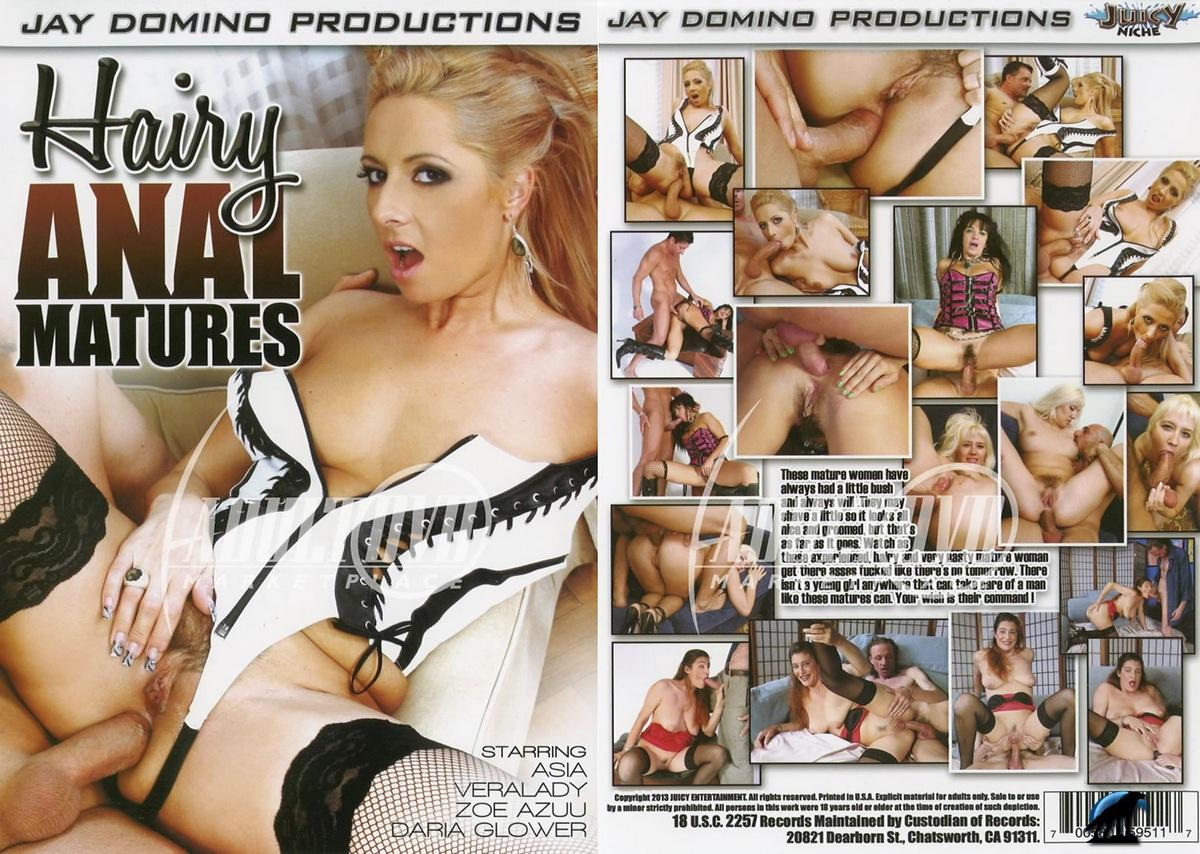 Hairy Anal Matures / Волосатые Анальныe Зрелые (2013) DVDRip